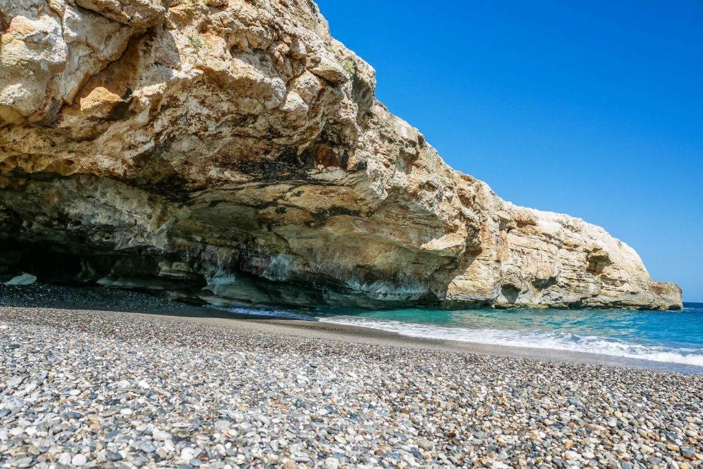 Spilies Beach Rethymno Crete - allincrete.com