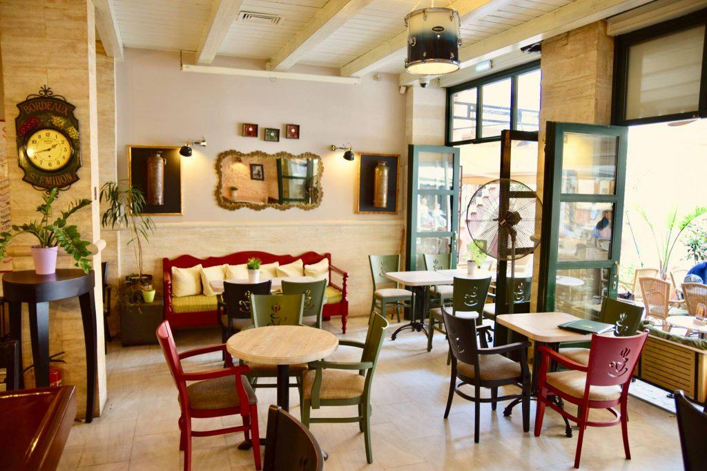 Cafe Galero Rethymno Crete