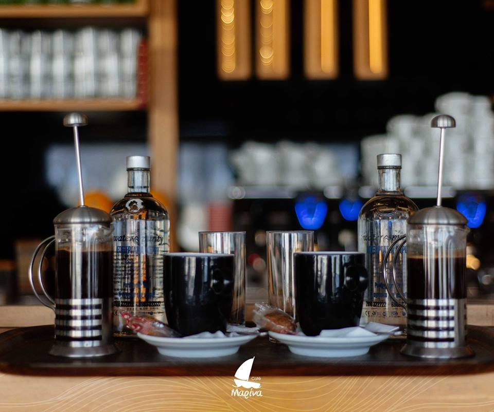 Marina Cafe Heraklion Crete