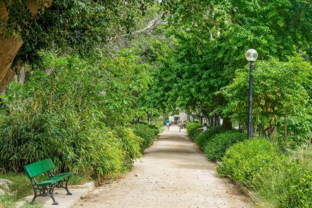 Kipos Park Municipal Garden of Chania Crete - allincrete.com