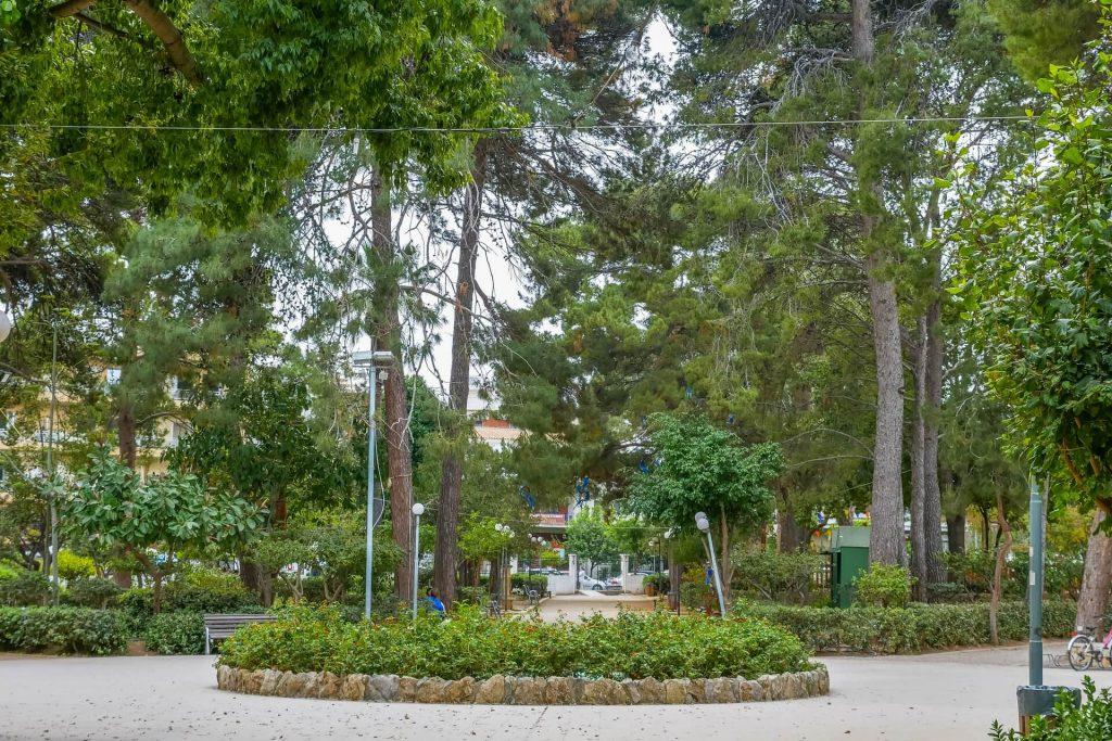 Municipal Garden Rethymno Crete - allincrete.com