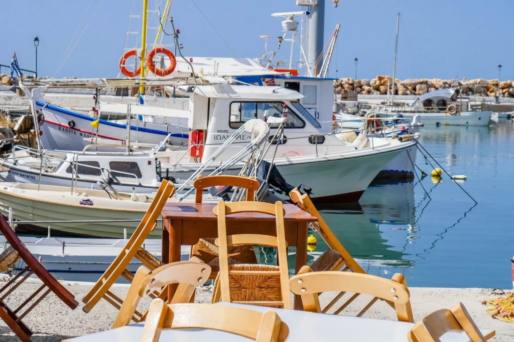 Nea Chora Harbour Chania Crete - allincrete.com