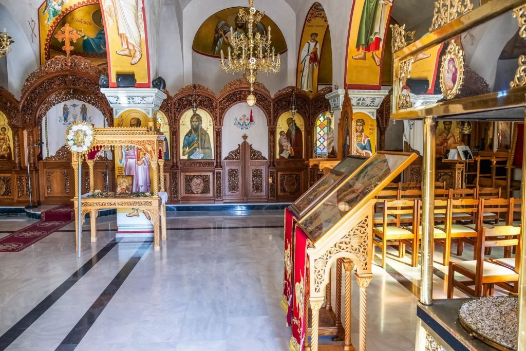 Transfiguration Church Piskopiano Heraklion Crete - allincrete.com