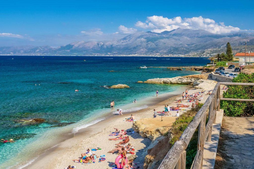 Gefiri Beach Sarantaris Limanakia Beach Hersonissos Heraklion Crete - allincrete.com