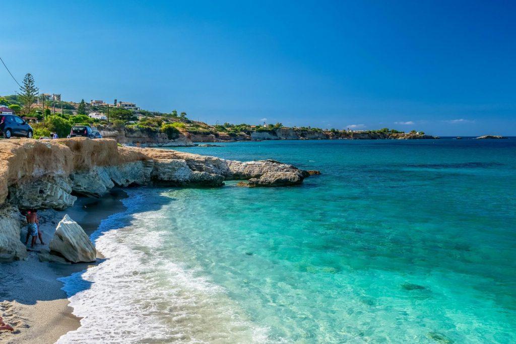 Sarantaris Limanakia Beach Hersonissos Heraklion Crete - allincrete.com