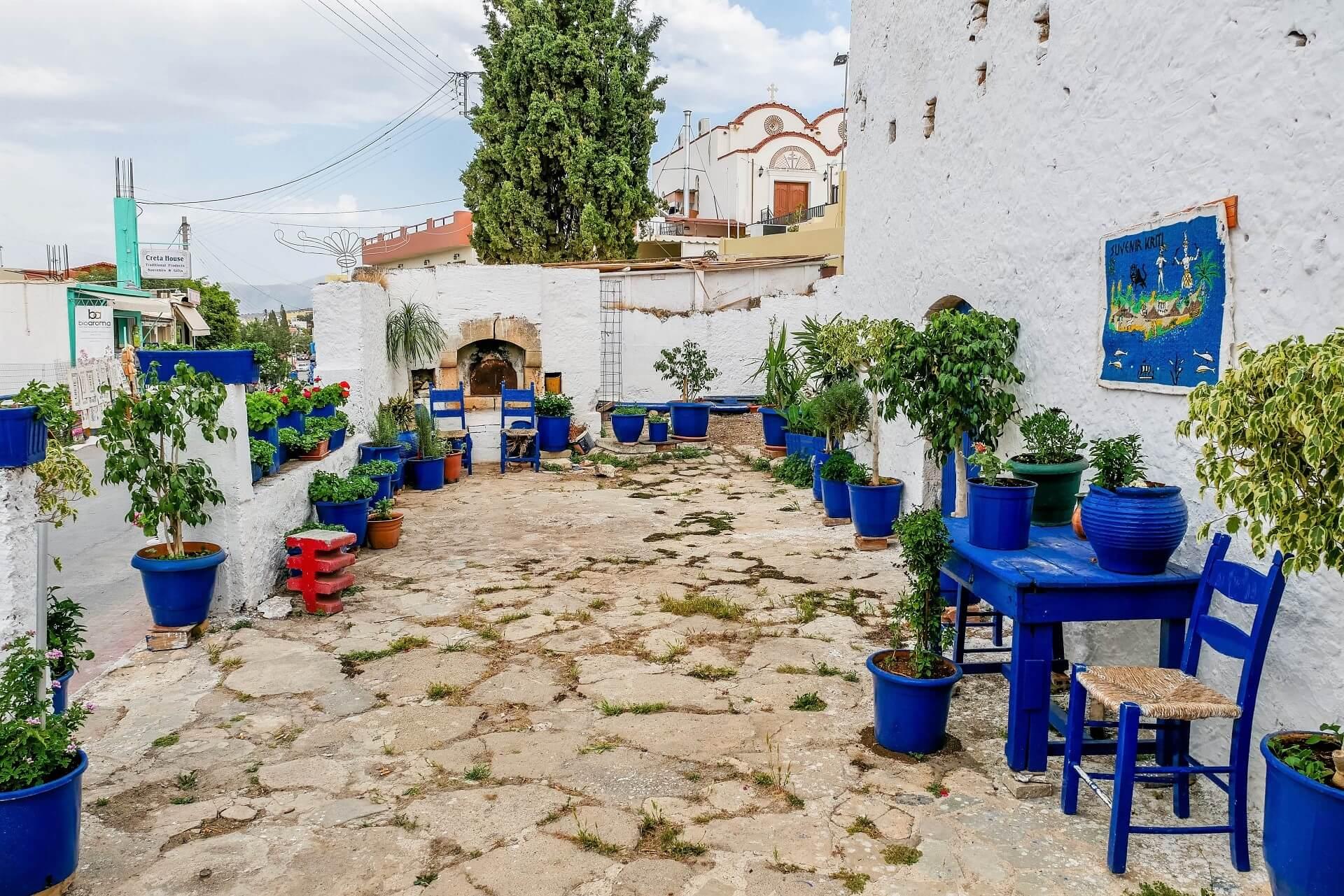 Piskopiano Village Heraklion Crete - allincrete.com