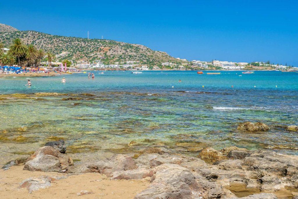 Stalida Beach Heraklion Crete - allincrete.com