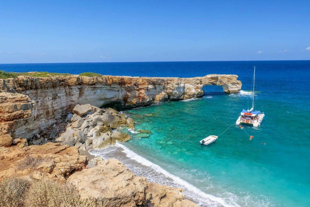 Kamara Beach Rethymno Crete - allincrete.com