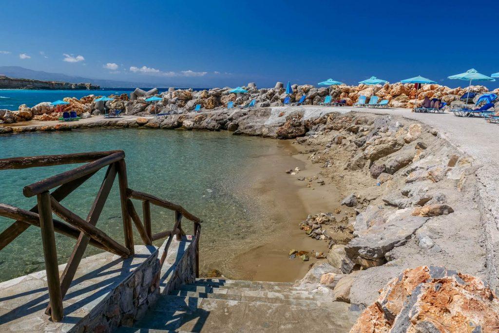Almyros Beach Rethymno Crete - allincrete.com