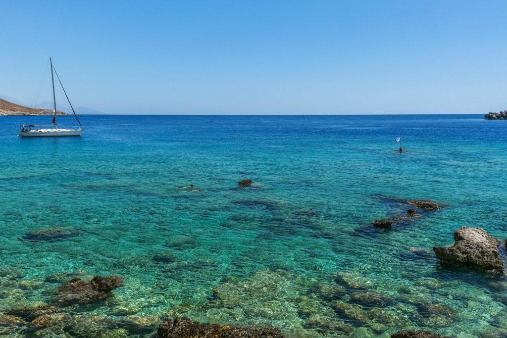 Akrogiali Beach Loutro Chania Crete - allincrete.com