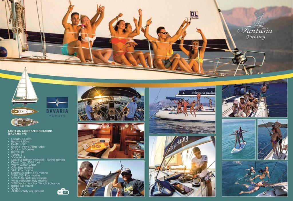 Fantasia Yachting Excurcions - allincrete.com