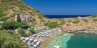 Karavostasi Beach Bali Rethymno Crete Greece - allincrete.com