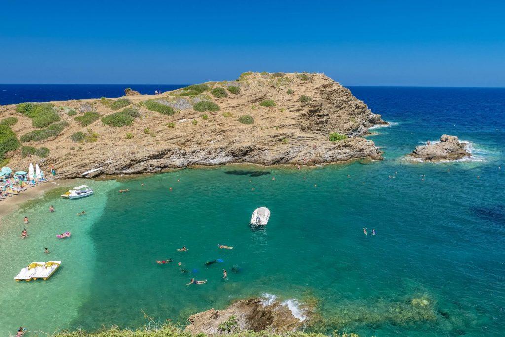 Karavostasi Beach Bali Rethymno Crete Greece - allincrete.com