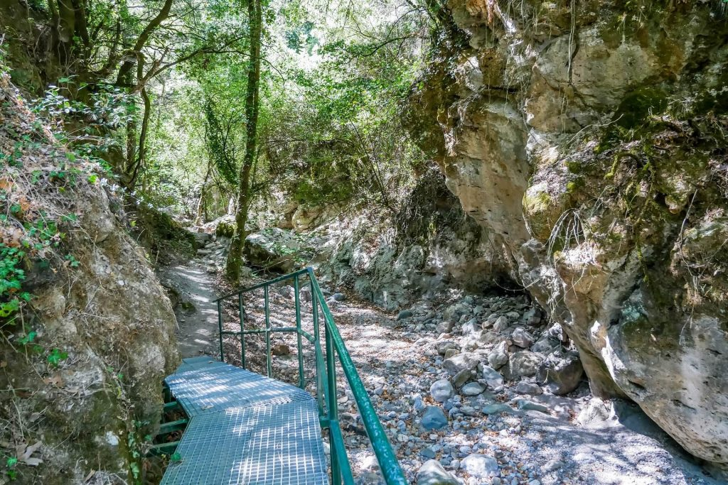 Sarakina Meskla Gorge, Chania, Crete Greece - allincrete.com