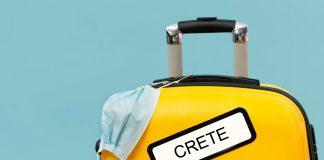 Crete Covid-19 Coronavirus Suitcase - Copyright at allincrete.com
