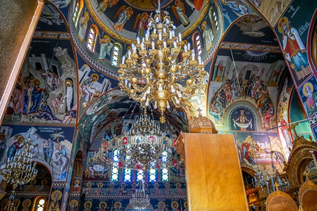 Agios Nektarios Church Malia Heraklion Crete - Copyright allincrete.com