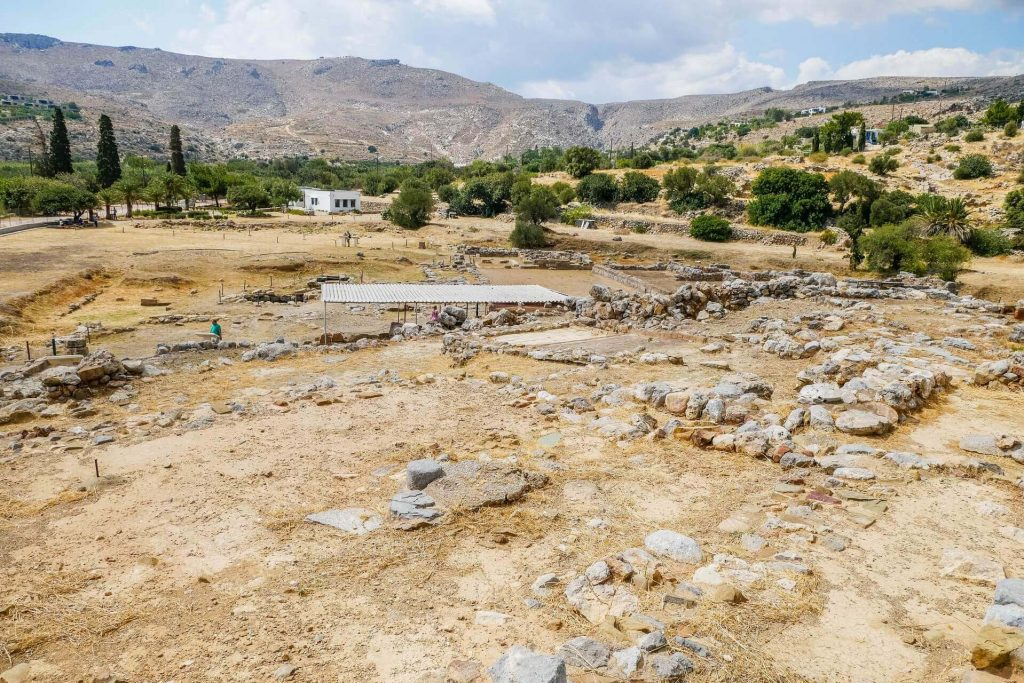Kato Zakros Minoan Archaeological Site Lasithi Crete - Copyright Allincrete.com