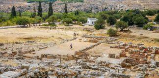 Kato Zakros Minoan Archaeological Site Lasithi Crete - Copyright Allincrete.com