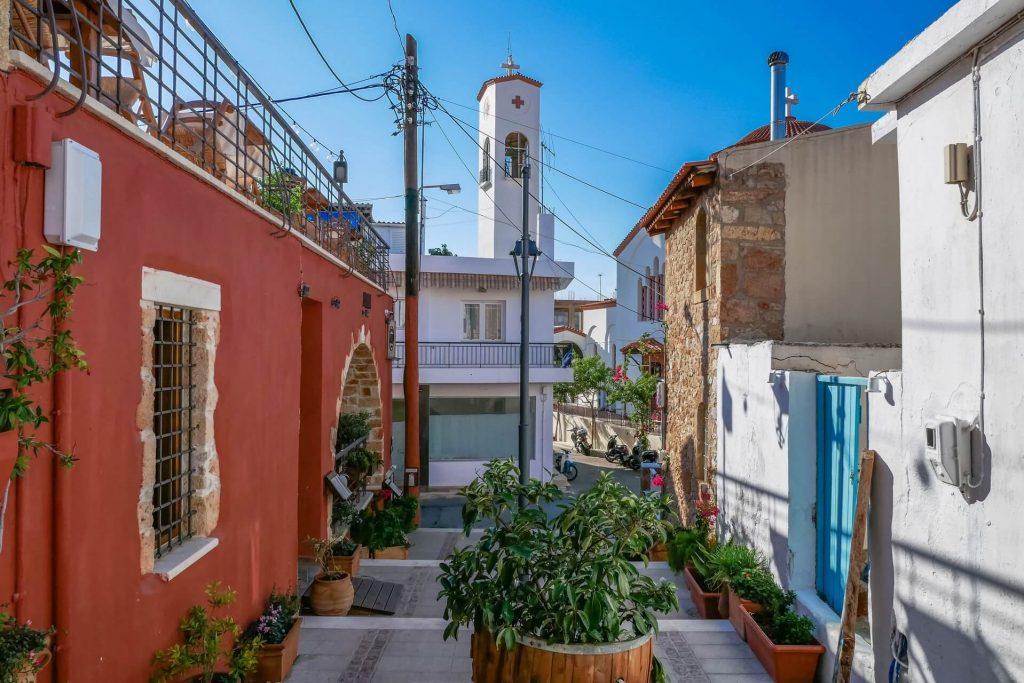 Malia Old Town Heraklion Crete - Copyright allincrete.com