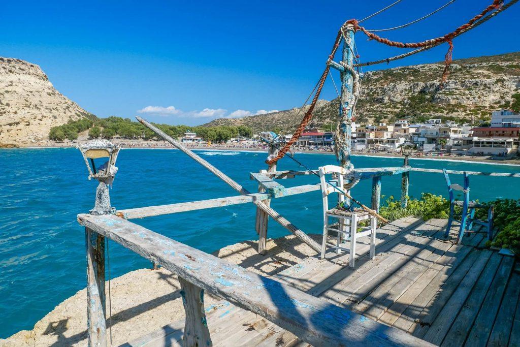Matala Heraklion Crete - Copyright allincrete.com