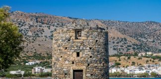 Olous Ancient City and Windmills in Agios Nikolaos Lasithi Crete - Copyright Allincrete.com
