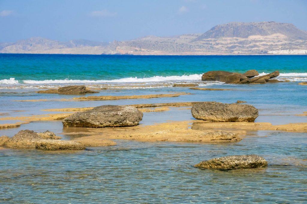 Plakes Beach in Sitia Lasithi Crete Greece - Copyright allincrete.com