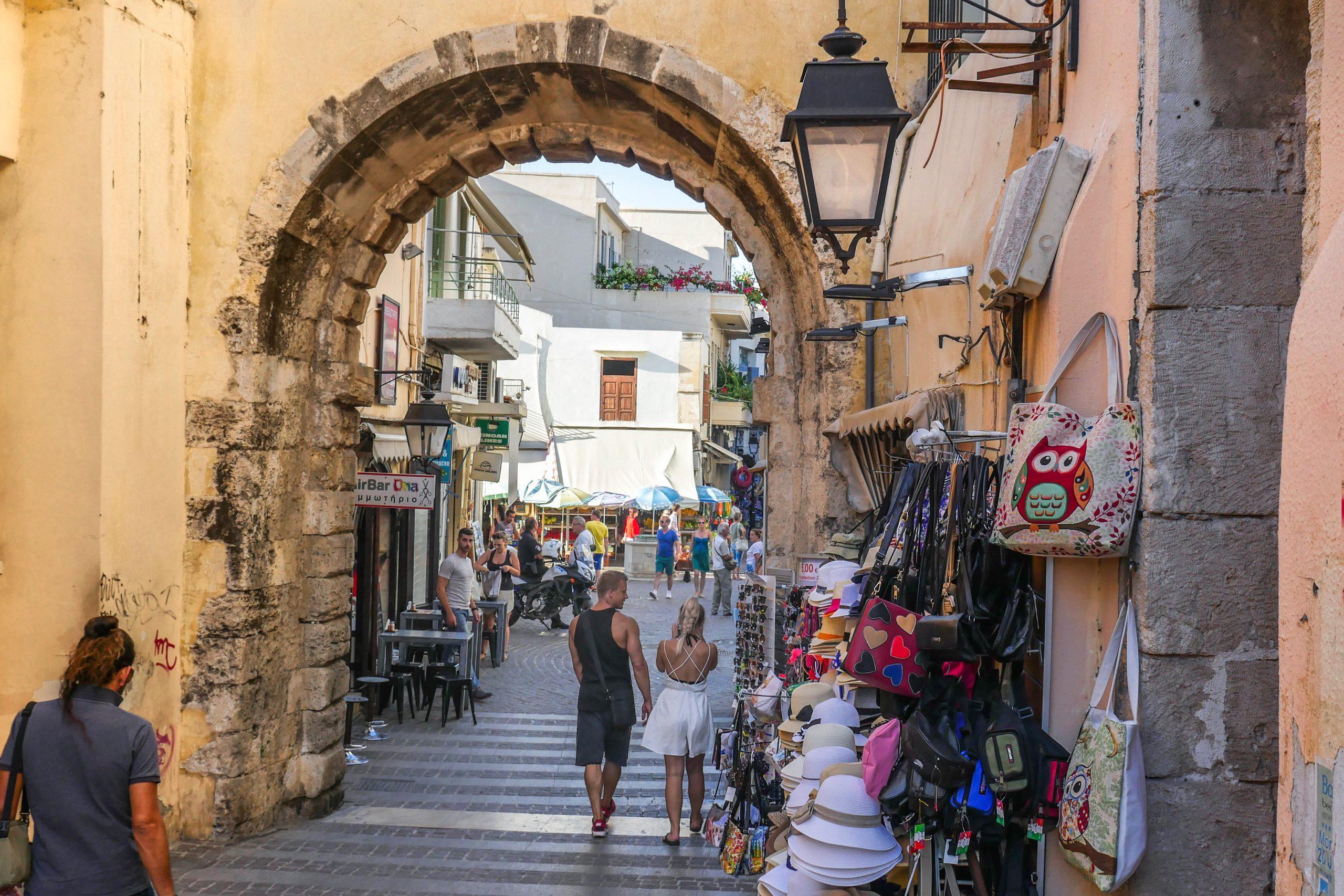 Guora Gate in Rethymno Town Crete - Copyright Allincrete.com
