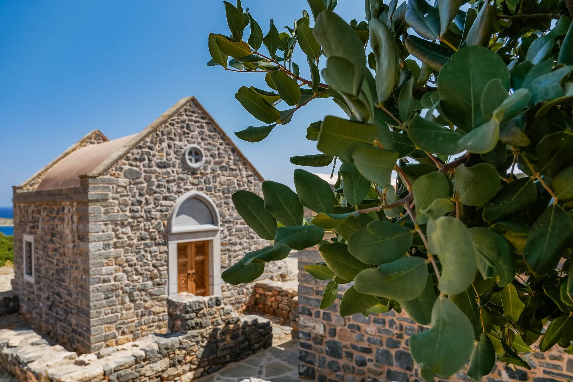 Saint Luke Loukas Church in Agios Nikolaos Lasithi Crete - Copyright Allincrete.com