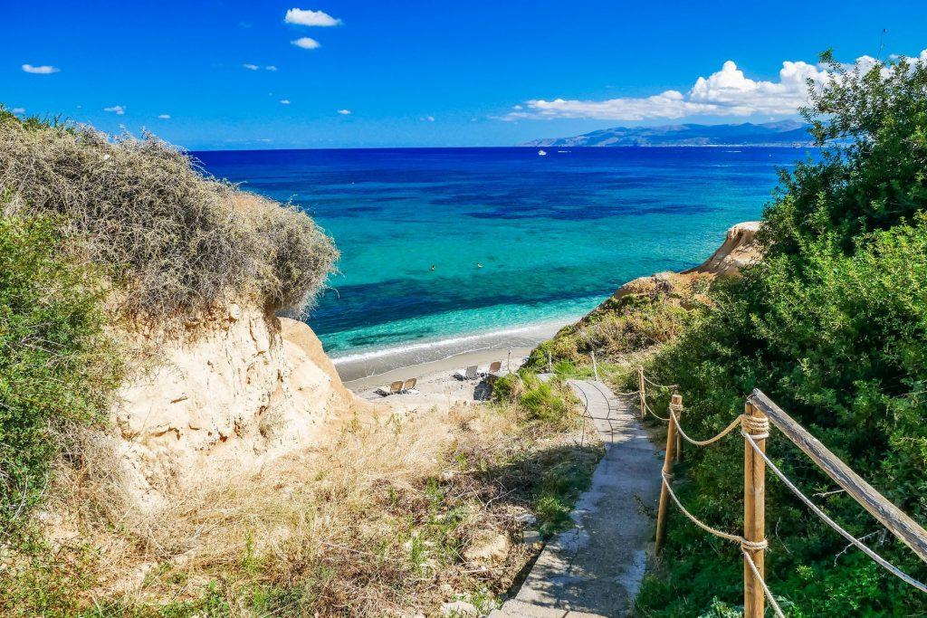 Sarantaris Beach Heraklion Crete - Copyright allincrete.com