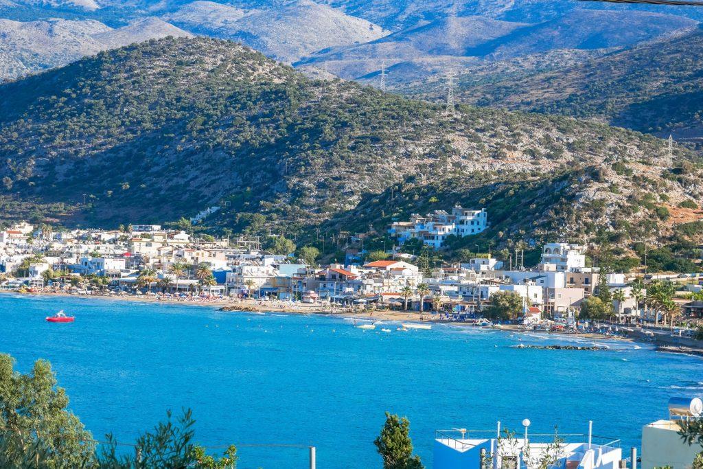 Stalida Town Heraklion Crete - Copyright allincrete.com
