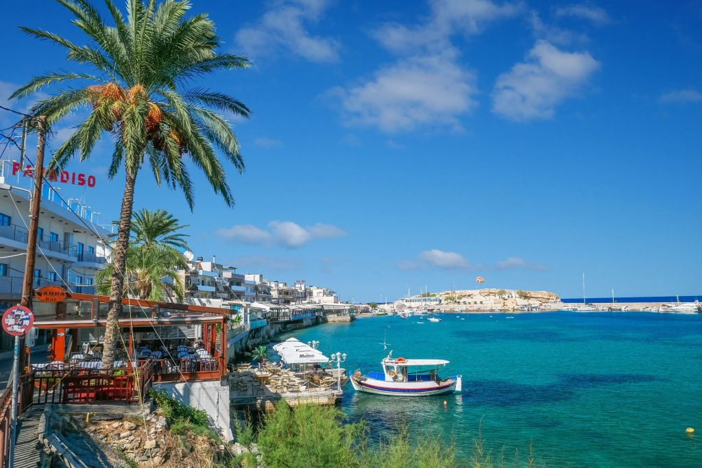 Hersonissos Port in Heraklion Crete - Copyright Allincrete.com